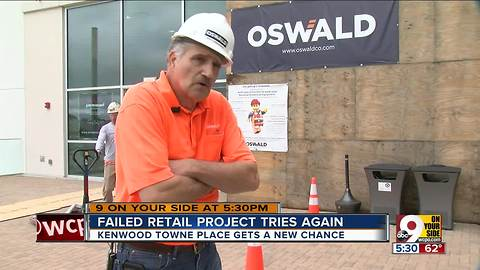 Failed retail project gets a second chance