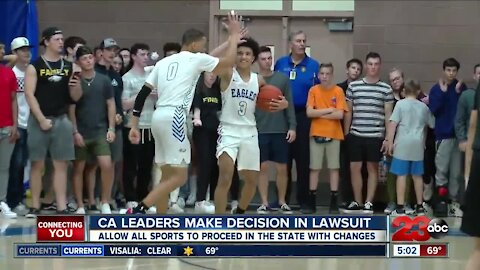 CA Leaders make decision in lawsuit, local coaches react to guidelines