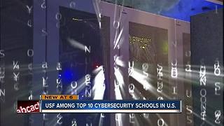 USF ranked a Top 10 cybersecurity school by the Military Times - Video