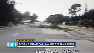 New dash cam video of plane crash - Video