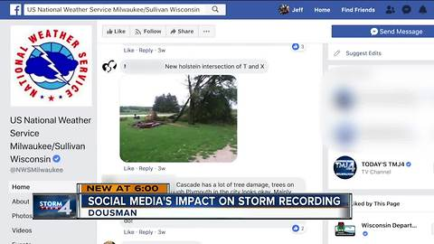 National Weather Services utilizes social media during severe weather