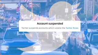 Twitter Suspends MAGA Rally Group, QAnon-Linked Founder