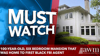 Stunning 100-year-old, six bedroom mansion that was home to America's first black FBI agent - Video