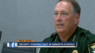 Sarasota Co. Sheriff worried about school safety plan - Video