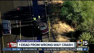 Wrong-way driver arrested after deadly I-17 crash