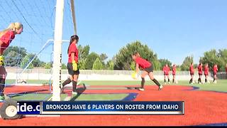 BSU Soccer represents state with 6 Idahoans on roster - Video