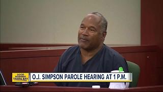 Former NFL running back O.J. Simpson faces good chance at parole in Nevada robbery case - Video