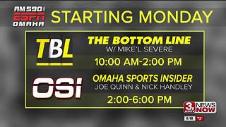 The Bottom Line to have all four hours broadcast on AM590 ESPN - Video