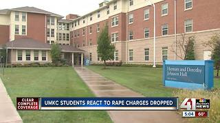 Charge dropped in UMKC rape case - Video