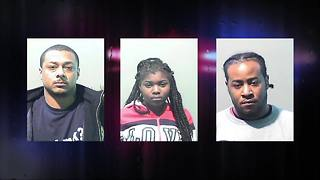 Three charged in human trafficking case involving 14-year-old girl