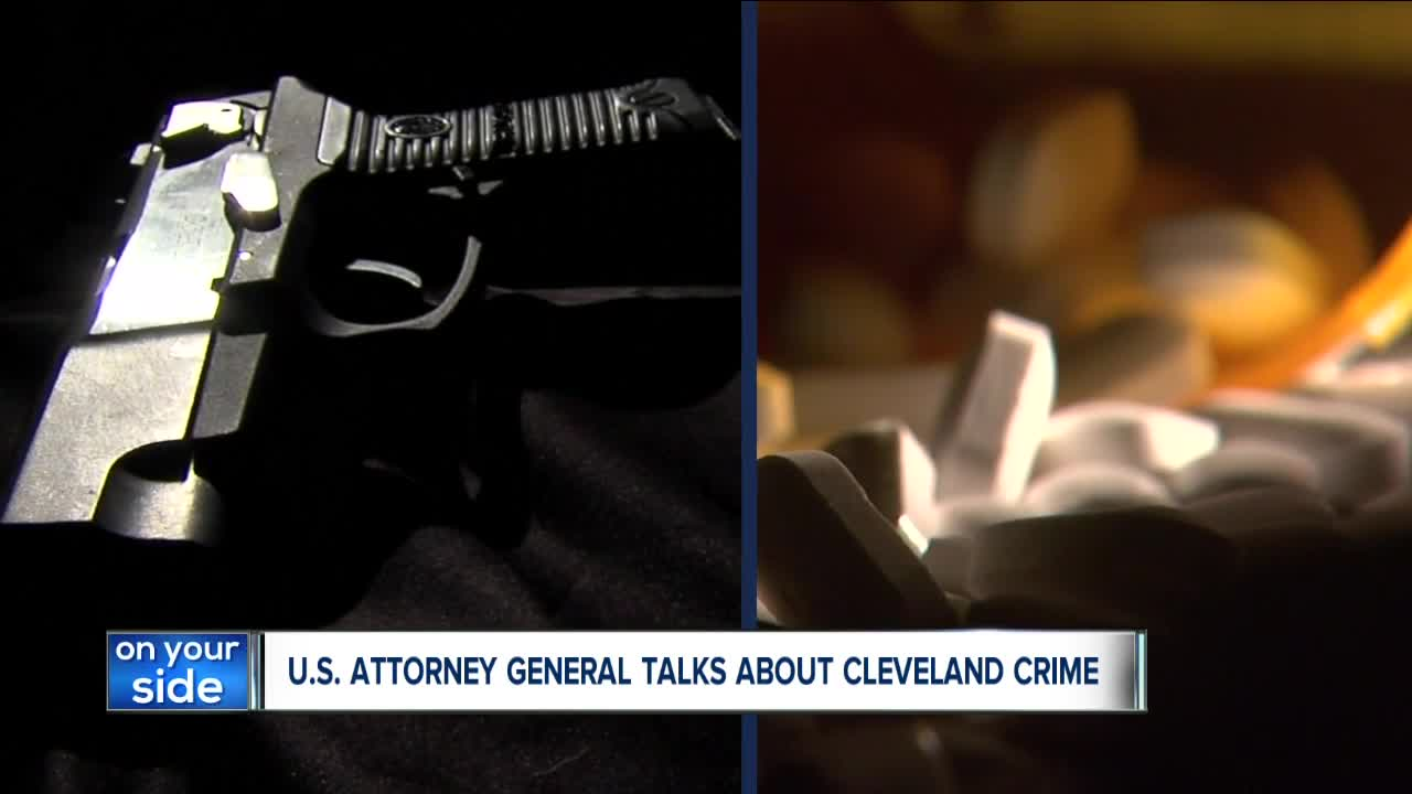 U.S. Attorney General Barr hosts round-table discussion addressing drugs and violent crime in Northeast Ohio