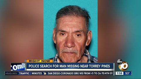 Police searching for missing Del Mar man