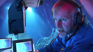 James Cameron Worked His Career Around His Fear Of Water - Video