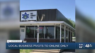 Local business pivots to online only
