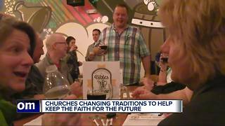 Metro Detroit churches find untraditional ways to teach about Christ - Video