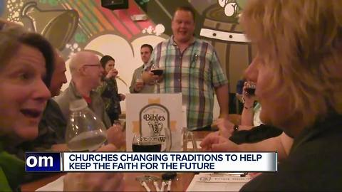 Metro Detroit churches find untraditional ways to teach about Christ