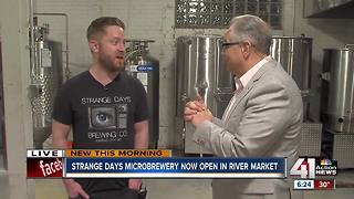 Strange Days brewing in the City Market - Video