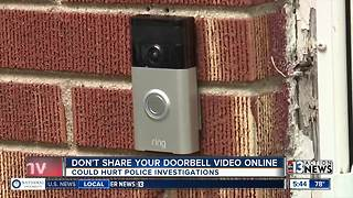 Don't share your doorbell video online