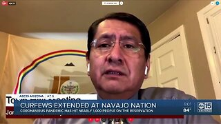 Curfew extended at Navajo Nation as coronavirus spreads
