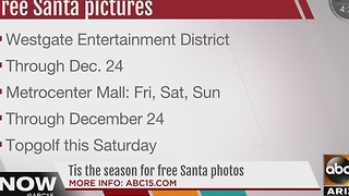 Where to see Santa but not pay for a photo! - Video