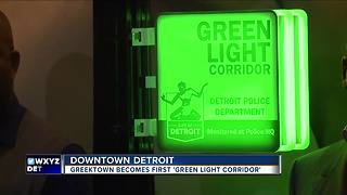 Greektown becomes first Green Light Corridor - Video