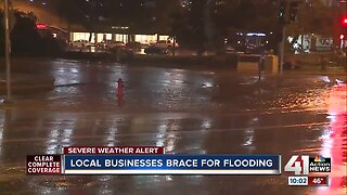 KC businesses brace for heavy rainfall, possible flooding