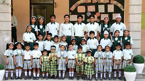 Indian school has 17 pairs of identical twins