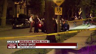 MFD: Child shot on city's north side - Video