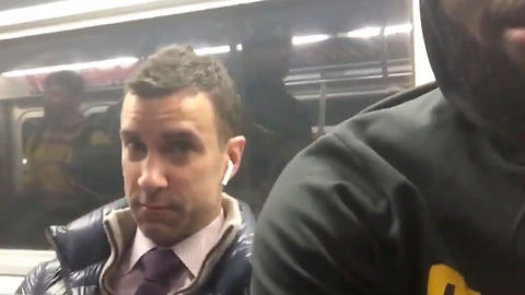 Guy Who Pushed LeBron James' Phone Away Explains Why He Was Mad