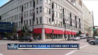 Boston Store parent company closing 40 locations - Video