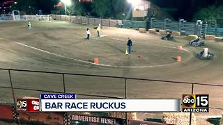 Cave Creek bar fights for rights to racing events - Video