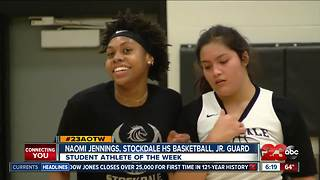 Female Athlete of the Week: Naomi Jennings - Video