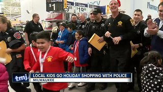 Local kids get chance to 'Shop with a Cop' - Video