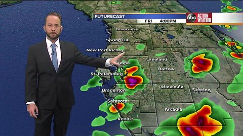 Florida's Most Accurate Forecast with Jason on Friday, August 23, 2019