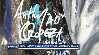 Local painter getting praise from KC's superstar athletes - Video