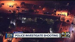 Shooting in West Phoenix leaves one injured - Video