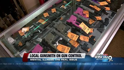 Local Gunsmith weighs in on the President Trumps thoughts to strengthen gun laws