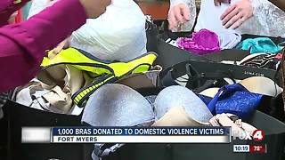 Over one thousand bras donated to ACT shelter in Fort Myers