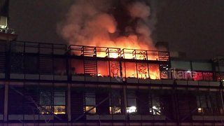 Fire tears through The Ivy in Manchester