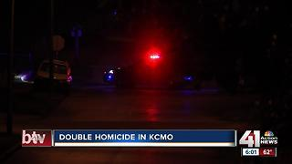 Double homicide in KCMO - Video