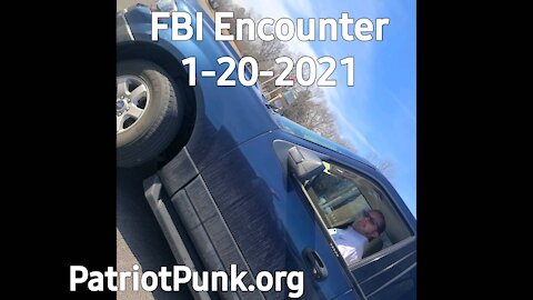 FBI Following Me After DC - Encounter 1