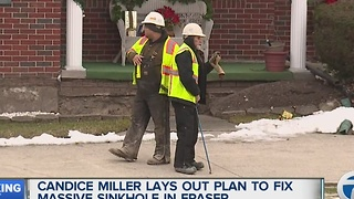 Financial impact of Fraser sinkhole - Video