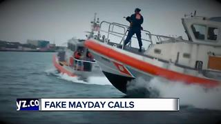 Coast Guard says fake mayday calls have ramped up on Great Lakes - Video