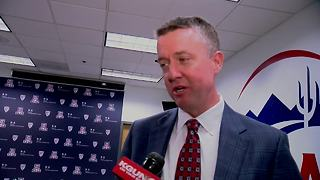 Greg Byrne returns to Tucson for Alabama game (Full Interview) - Video