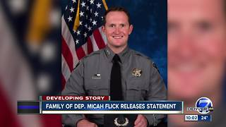 Funeral services announced for fallen El Paso County Deputy Micah Flick - Video
