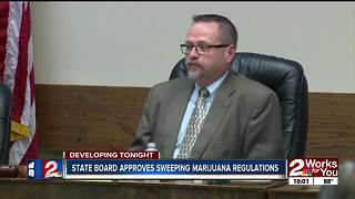 State board approves sweeping marijuana regulations - Video