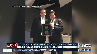 Clark County Medical Society recognized - Video