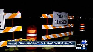 Eaton railroad crossing where 2 teens died closed - Video