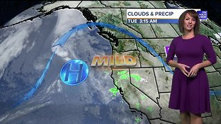 Dry and mild through Friday, then rain and snow arrive for the weekend