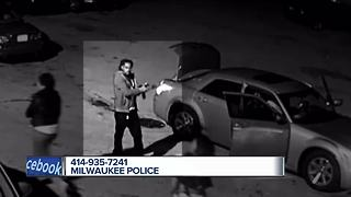 Milw Police seek suspect in shots fired incident. - Video